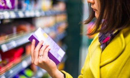 Verpakkingen en labels van voedingsproducten